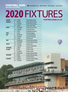 Fontwell Racecourse Fixtures 2020